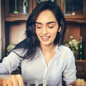 How is Manushi Chillar spending her time?