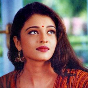 Which star, then 17, had a crush on Aishwarya?