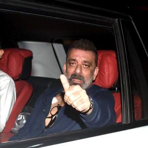 After chemo, Sanjay Dutt returns to work