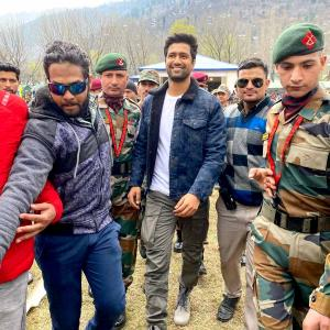 What's Vicky Kaushal doing in Uri?