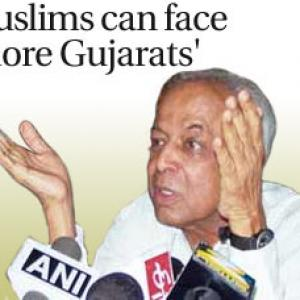 'Muslims can face more Gujarats'