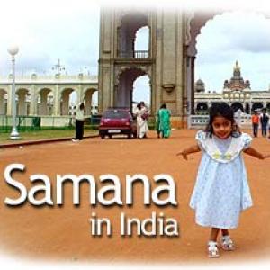 Teen girls Samana