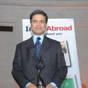 Fareed Zakaria is India Abroad Person of the Year