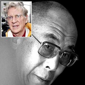 Uma Thurman's dad and the Dalai Lama