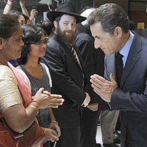 In PHOTOS: Sarkozy honours 26/11 heroes