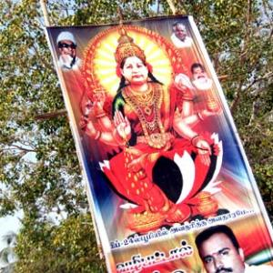 Image: For AIADMK men, Jaya is a goddess
