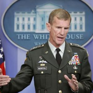 All options on table: White House on McChrystal