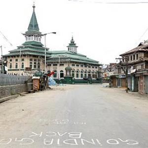 Protests continue across tense Kashmir