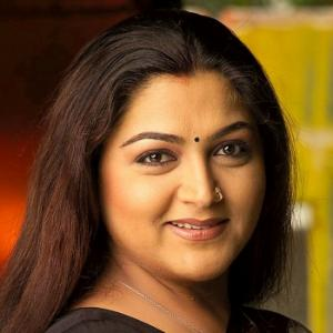 Khushboo springs a surprise; joins DMK