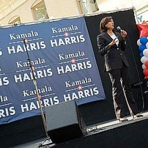I have a track record of innovation: Kamala Harris