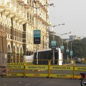 PIX: Colaba shuts down ahead of Obama's arrival