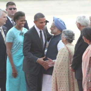 When the US President hugged Dr Singh