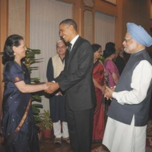 Obamas meet India's high and mighty