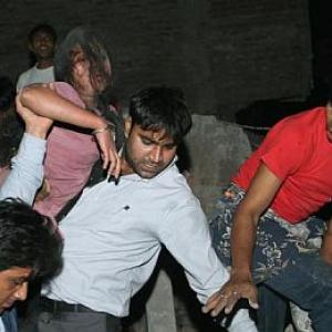 East Delhi building collapse kills 66