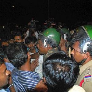 Osmania campus tense after clashes