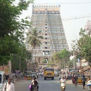 Amma isn't the blessed one yet in her temple town