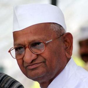 Hazare calls for jail bharo movement on April 13