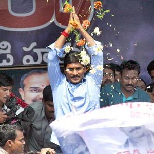 Jagan Reddy declares Rs 446 crore in assets!