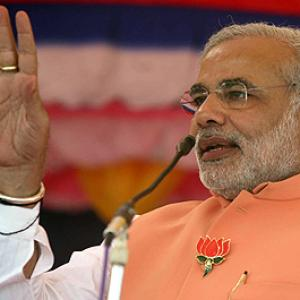 Modi's nasty 'fast politics': Shifting the BJP rightwards