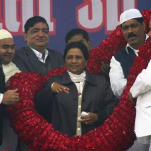 It's Mayawati vs the rest in UP elections 2012