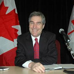 Canada: Michael Ignatieff attends Chadha's dinner
