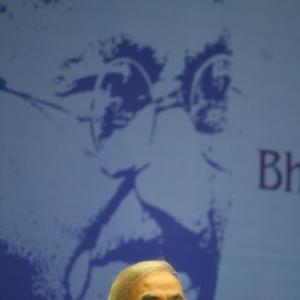 Narendra Modi defines secularism at PBD meet