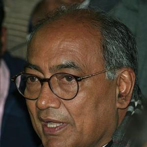 Ramdev was RSS' plan A, Hazare is plan B: Digvijay