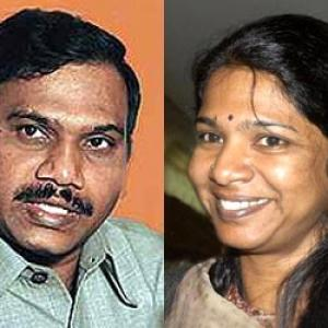 2G case: Court gives bail to Raja, Kani, Ammal