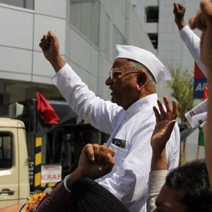hy Anna Hazare may have to hit the streets again