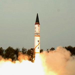 Nuclear capable ICBM Agni-5 successfully test-fired