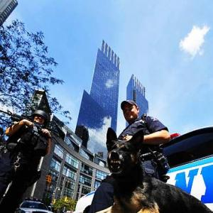 IN PICS: NYPD gears up for 9/11 anniversary