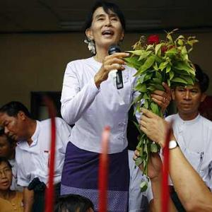 What is Suu Kyi's plan for Myanmar after win?
