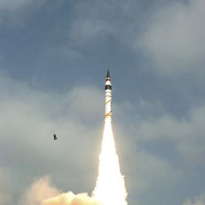 PIX: 'Production of Agni V to begin in a year's time'