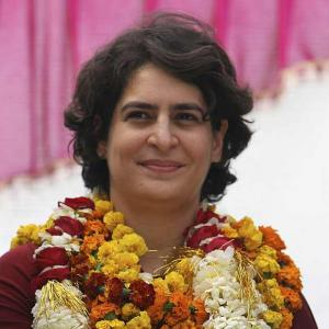 Priyanka makes veiled attack on Modi, says only one man takes decisions in BJP