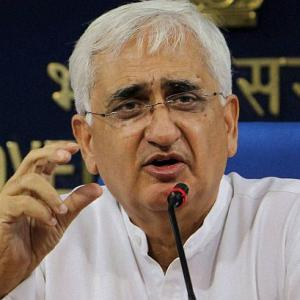 Leave the running of the country to us: Khurshid to Modi