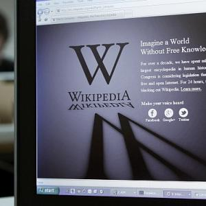 From Wikipedia to Darkipedia: Protest against anti-piracy law