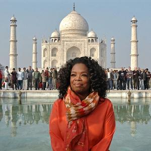 India is like the greatest show on earth: Oprah Winfrey