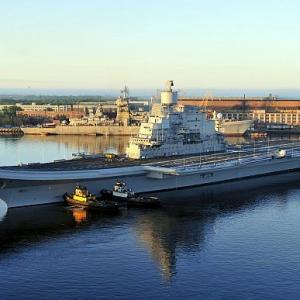 PHOTOS: INS Vikramaditya sets the pace in sea trials