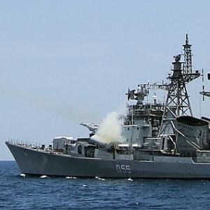 China could do a naval blockade in Indian Ocean next