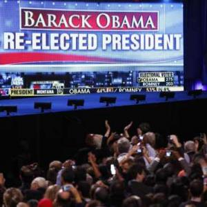 Yes he CAN! Obama beats Romney, gets second term