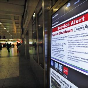 'Frankenstorm' fury: NY transit to remain shut for 4 days