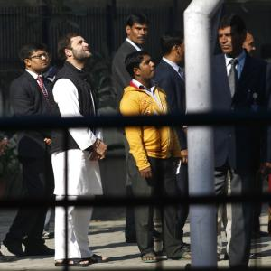 PHOTOS: Sonia, Sheila Dikshit cast their vote, Rahul in queue