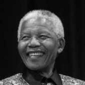 The lasting image of Nelson Mandela is his smiling visage