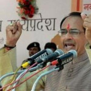 BJP wins two-thirds majority in Madhya Pradesh Assembly polls