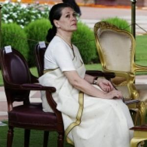 The monumental poll debacle has hit Sonia Gandhi hard