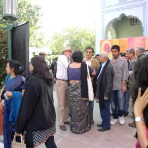 Controversy and cricket rock Day 3 of Jaipur Lit Fest