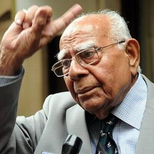 Ram Jethmalani: A doyen of legal profession
