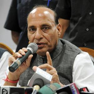Pakistani terrorists carried out attack on BSF convoy: Rajnath