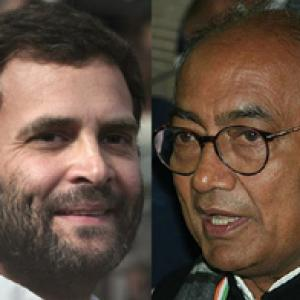 Will NOT declare Rahul as PM candidate: Digvijaya