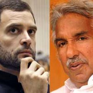 Chandy discusses Kerala politics with Rahul